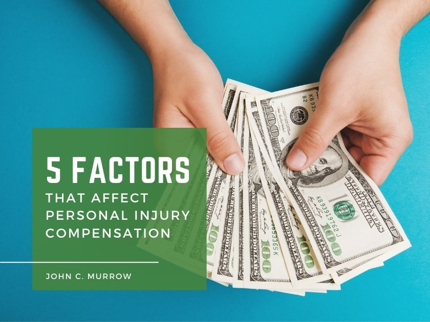 5 Factors That Affect Personal Injury Compensation